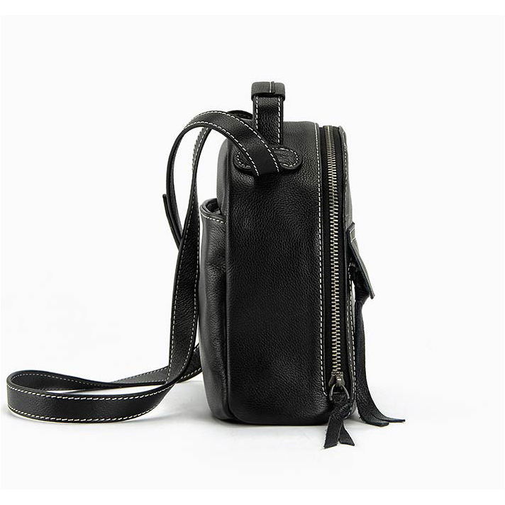 Smart Genuine Leather Cross Body Bag LH2096_2 Colors