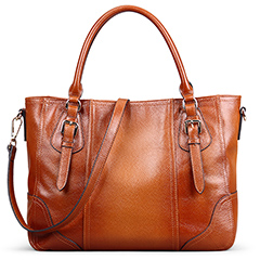 Kice Brown Leather Tote LH9848