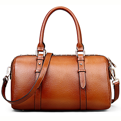 Nwike Brown Leather Tote LH9933
