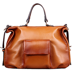 Cooke Brown Leather Tote LH9906
