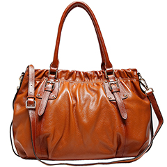 Sumy Brown Leather Tote LH9926