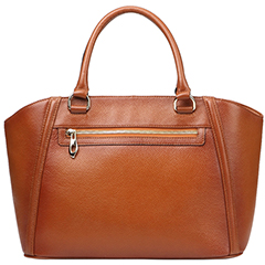 Peck Brown Leather Tote LH9125
