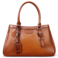 Nicola Brown Leather Tote LH9834