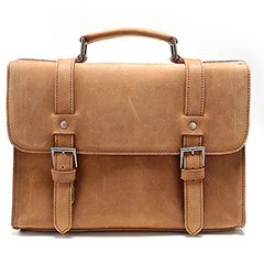 Stylish Genuine Leather Messenger Bag LH2142
