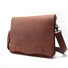 Trendy Genuine Leather Messenger Bag LH2152