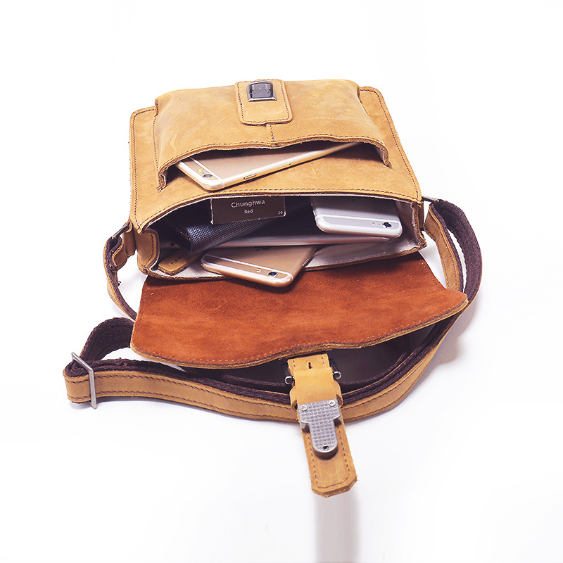 Typical Genuine Leather Messenger Bag LH2149