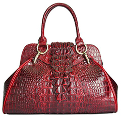 Crocodile Pattern Leather Tote LH1758_3 Colors