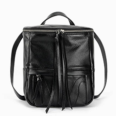 Functional Genuine Leather Backpack LH2158