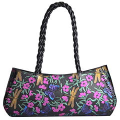 Handcrafted Floral Pattern Genuine Leather Bag LH2086C Colors