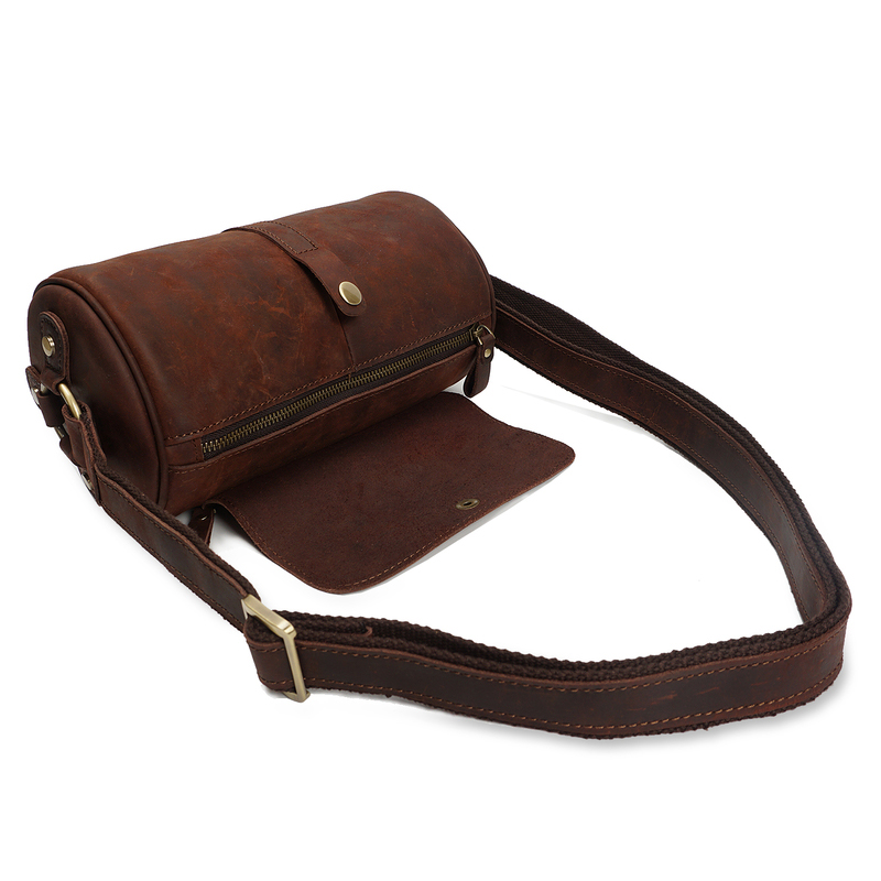 Crazy Horse Pull Up Leather Purse LH2171