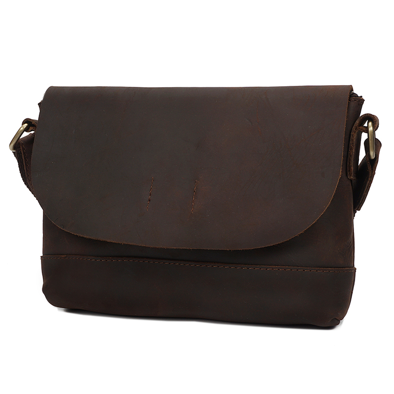 Crazy Horse Pull Up Leather Purse LH2174
