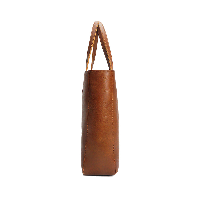 Crazy Horse Pull Up Leather Shoulder Bag LH2184