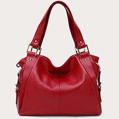 Casual Genuine Cowhide Leather Shoulder Bag LH2199