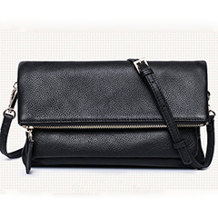 Folding Up Real Leather Purse LH2034
