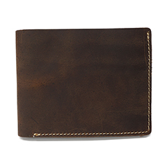 Crazy Horse Pull Up Leather Wallet LH2212