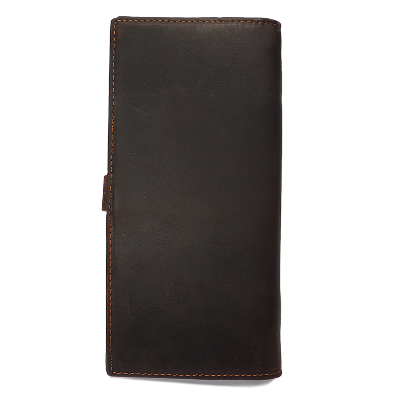 Crazy Horse Pull Up Bi-fold Leather Wallet LH2213