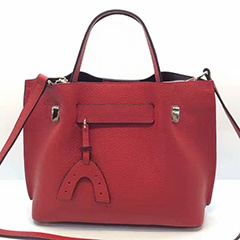 Capacity 3-sections Real Leather Handbag LH2347_3 Colors