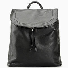 Barrel Soft Genuine Leather Backpack LH2424