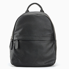 Barrel Soft Genuine Leather Backpack LH2425