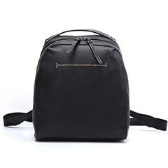 Large Capacity Real Leather Backpack LH2443_3 Colors