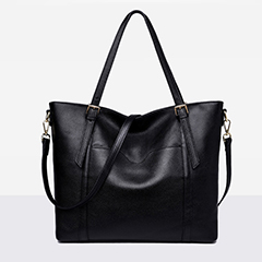 Capacity Real Leather Shoulder Bag LH2487_3 Colors