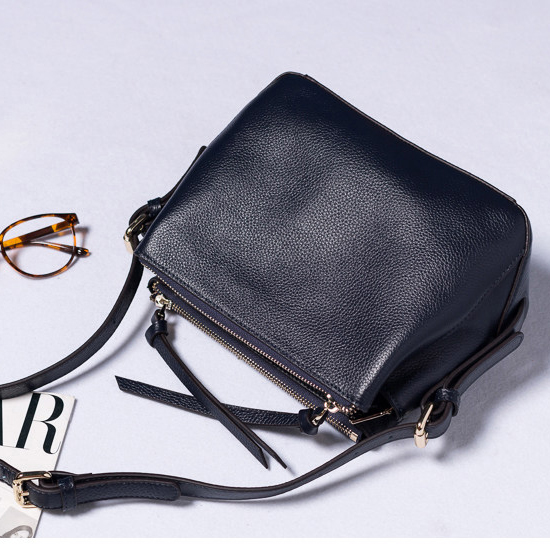 Pretty Genuine Leather Cross Body Bag LH2232_4 Colors