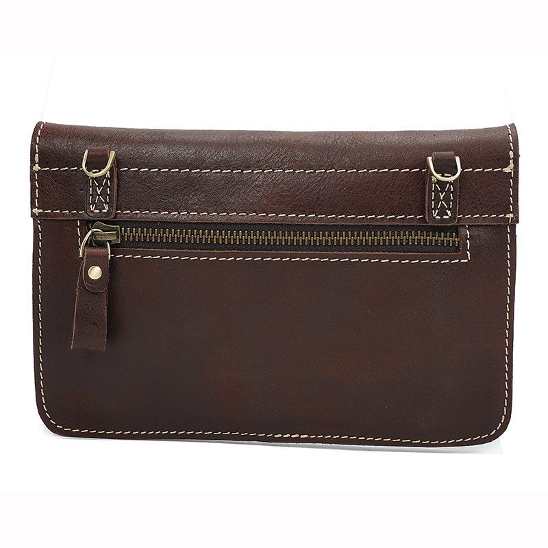 Envelope Distress Leather Cross Body Bag LH2294