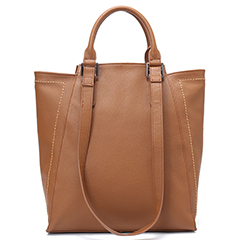 Functional Genuine Leather Tote LH2546_2 Colors