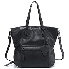 Large Capacity Real Leather Shoulder Bag LH2543