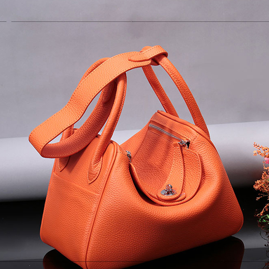 30cm Fashion Real Leather Crossbody Bag LH2566L_9 Colors