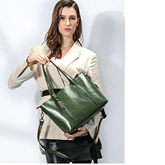Large Shopper Handbag Shoulder Bag LH2568_7 Colors