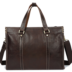 Real Leather Laptop Bags Briefcase for Men lh2585_2 Colors