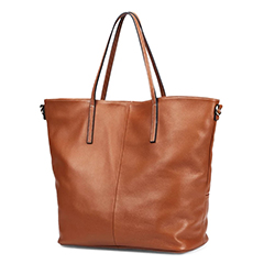 Soft Genuine Leather Tote Bag LH2649S_2 Colors