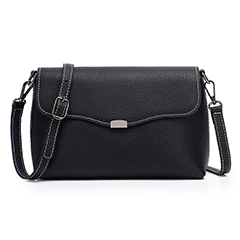 Elegant Womens Real Leather Crossbody Bag LH2663_4 Colors