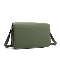 Pebbled Leather Crossbody Bag LH2668_4 Colors