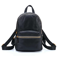 Soft Designer Real Leather Backpack LH2696_3 Colors