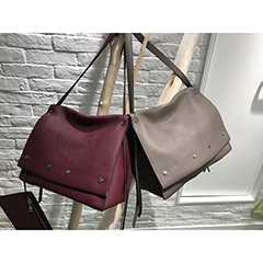 Soft Genuine Leather Shoulder Bag for Women Purse Sets LH2718_5 Colors
