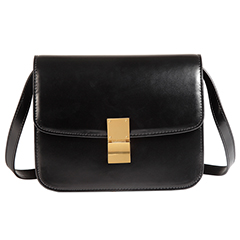 Black Stylish Womens Leather Crossbody Bag LH2572_4 Colors