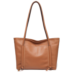 Brown Sizeable Fashion Tote Shoulder Handbags Ladies Top Handle Satchel LH2735