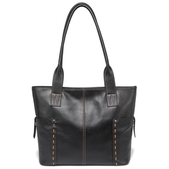 Black Large Size Pockets Women Shoulder Bags and Handbags Top Handle Bag LH2733