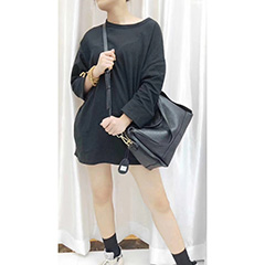 Large Supple Leather Tote Bag for Women LH2908_5 Colors