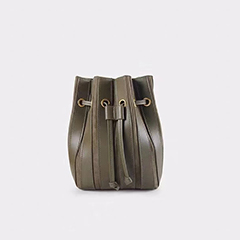 Drawstring Patent-Suede Patch-work Leather Barrel Bag LH2928_ Colors