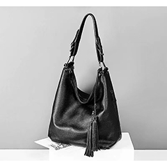 Leather Hobo Bag Womens Shoulder Purse LH3076_6 Colors