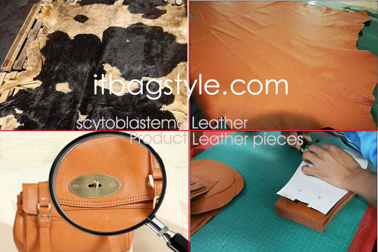 how to  make leather into a elegant leather handbag