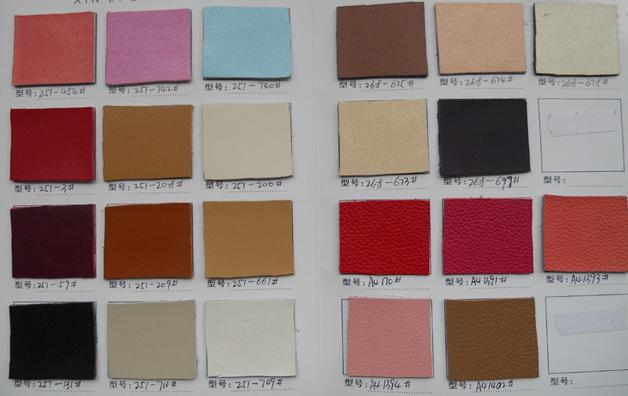 leather swatch